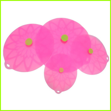 Hot sale good quality for Large Lily Pads Set Of 4 Round Silicone Pan Lid Set export to Ecuador Factory