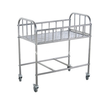 Wholesale Stainless Steel Baby Bed For Baby Use Furniture