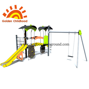Climbing tree sphere playground  ladder