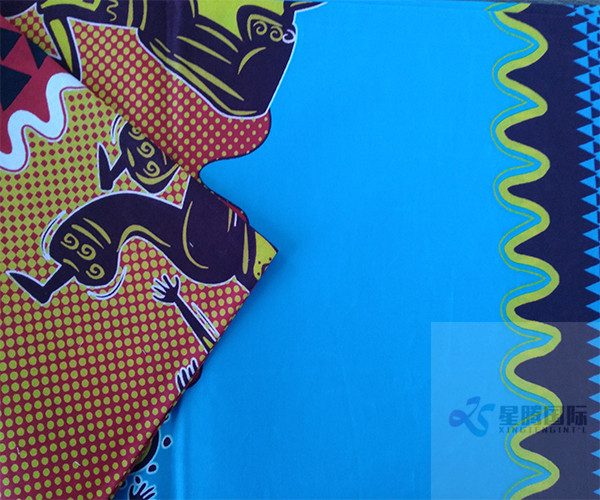 Print Wax Fabric For Dress