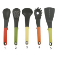 5 pcs kitchen tool set with color handle