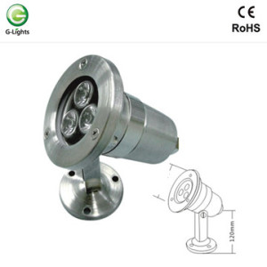 Factory directly sale for Led Underwater Light Mini 3watt Bracket LED Underwater Light export to Spain Factories