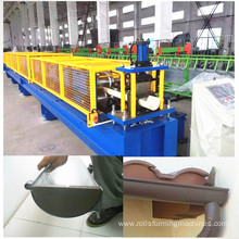 Steel gutter roll former making machine