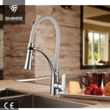 Contemporary 1-Handle Silicon Hose Kitchen Tap Faucet