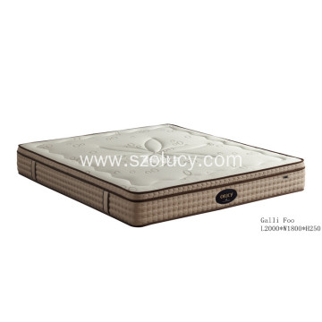 High Quality for Double Memory Foam Mattress Negative Ions Memory Foam Mattress export to Portugal Exporter