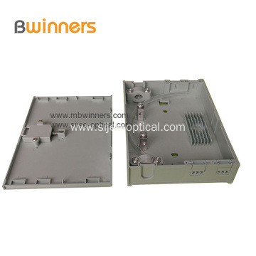 Fiber Optic Mini Terminal Box  Face Plate 2 Ports Ftth