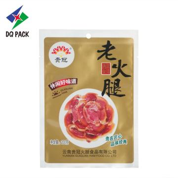 Three seal bag food packaging pouch