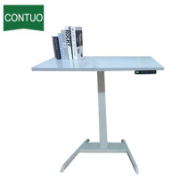 Best Price for Adjustable Standing Desk Adjustable Height Computer Sit Stand Working Table Base supply to Yugoslavia Factory