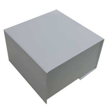 Custom luxury white folding box storage boxes