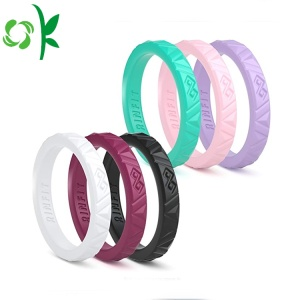 Promation Silicone Ring Multicolor Irregular Round Ring