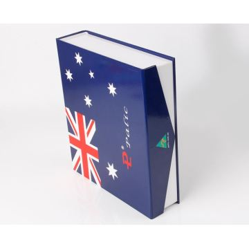 Book Shaped Box With Magnetic Closure