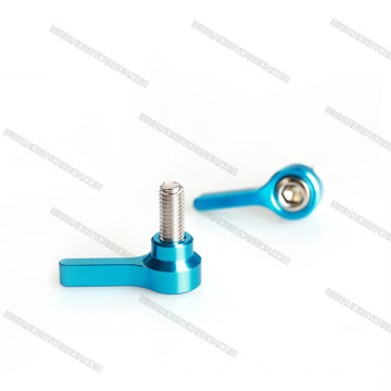 M5 CNC Aluminum Wing Knob Thumb Screws
