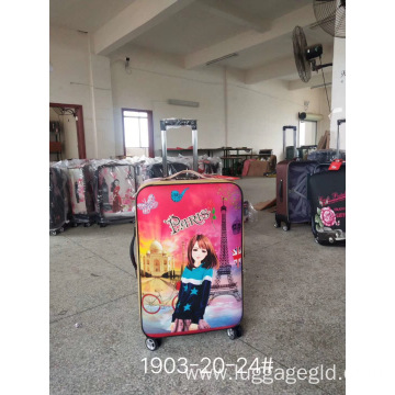 Inexpensive luggage sets Cartoon wholesale
