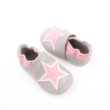 Unisex New Soft Leather Toddler Prewalker Baby Shoes
