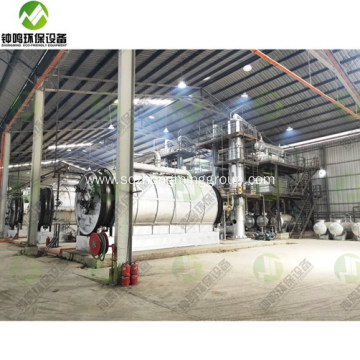 Waste Motor Oil Recycling Process Machines