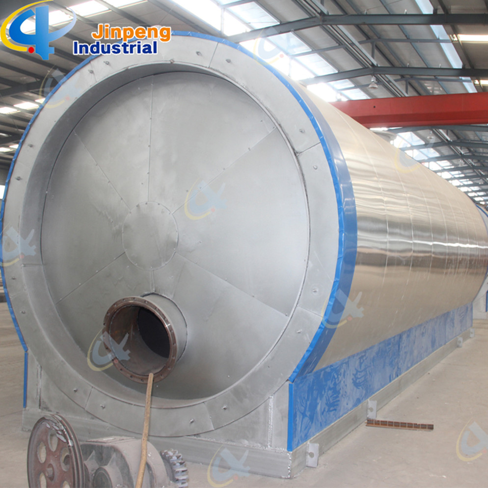 Used Rubber Oil Catalystic Pyrolysis Oil Distillation Plant