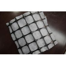 Combined PP Biaxial Geogrid With Geotextile
