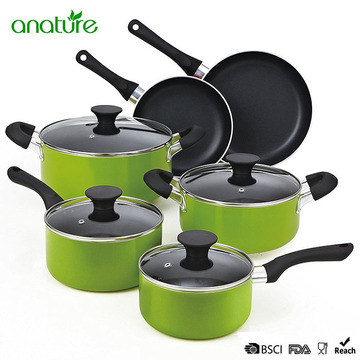 Porcelain Ceramic Cook at Home Cookware Set