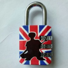 Color Printing Luggage Combination Padlock