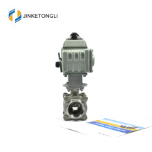 JKTLEB087 electrically actuated steam threaded ball valve