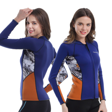 Seaskin Cheap Women's Neoprene Wetsuit Jacket For Sale