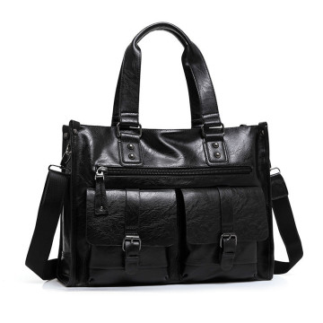Men Leather Hand Bags For Travel
