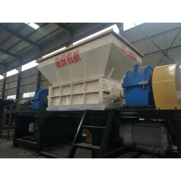 single two shaft shredder dual drive shredding machine