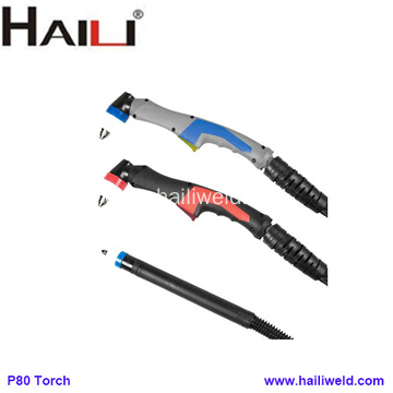 P-80 P-80P Air cooled plasma cutting torch