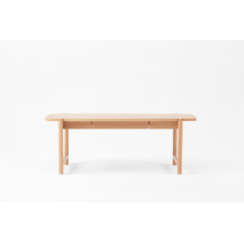 Modern Oblong Beech Coffee Table Wooden Furniture