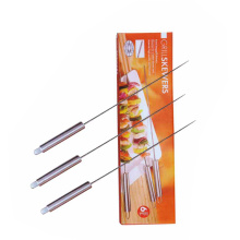 3pcs terse stainless steel skewer set
