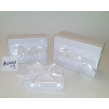 Romantic Design silk decoration jewelry packing box sets