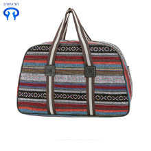 Large capacity multi-purpose canvas handbag