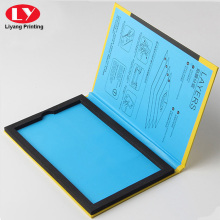 Cellphone Screen Protectors Packaging Box with foam