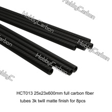 3K Full Carbon Fiber Tubes and Connectors