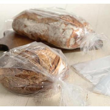Clear Flat Bag for Bread