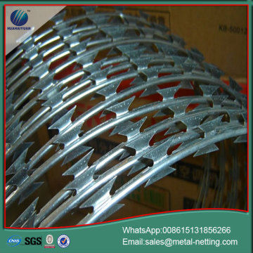 anti climb razor barbed wire concertina wire