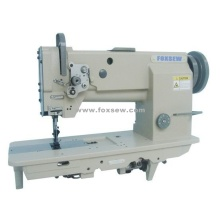 Double Needle Unison Feed Heavy-Duty Lockstitch Sewing Machine