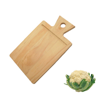 Good quality pine wood cheese cutting board