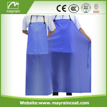 Blue PVC Men Apron