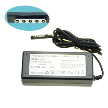 12V 3.6A 45W Power adapter For MICROSOFT Surface