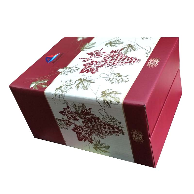 Extra-hard wine color cartons