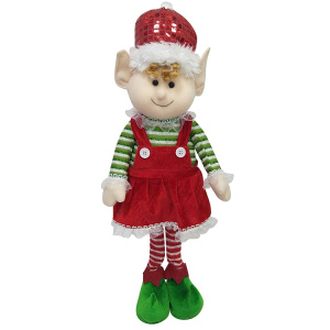 Christmas magic elf 3d doll