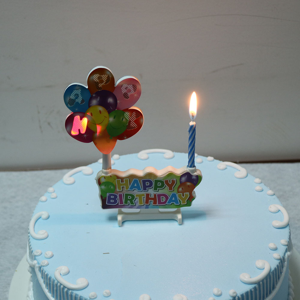 music flashing birthday candle7