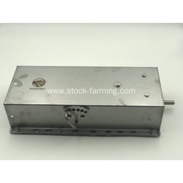 Automatic feeder for sow feeding though stainless steel