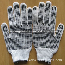 safety cotton glove seamless working labor glove