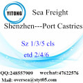 Shenzhen Port LCL Consolidation To Port Castries