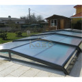 Popular Polycarbonate Aluminum Swimming Pool Enclosure