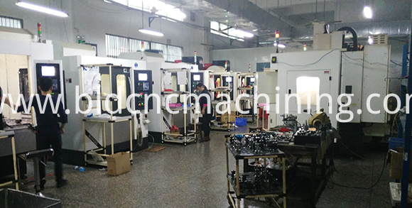 CNC Milling machining room