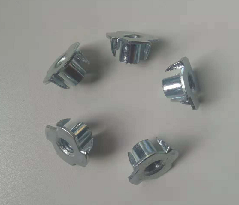 Steel 4 Prong T Nuts
