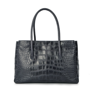 Ordinary Discount for Document Luxury Business Bags Fashion Crocodile Genuine Leather OL Daily Business Bag export to Indonesia Wholesale